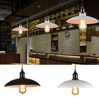 Vintage Industrial Pendant Antique Loft Bar Ceiling Light Metal Lamp Shade Hot