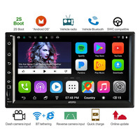 ATOTO A6 Double din Android Car GPS Navigation Stereo Player/Dual Bluetooth/A62710SB 1G/16G Car Entertainment Multimedia Radio