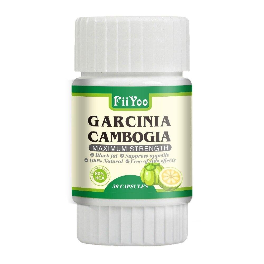 FiiYoo reine garcinia cambogia extrakte 80% HCA natürliche kräuter für gewicht verlust