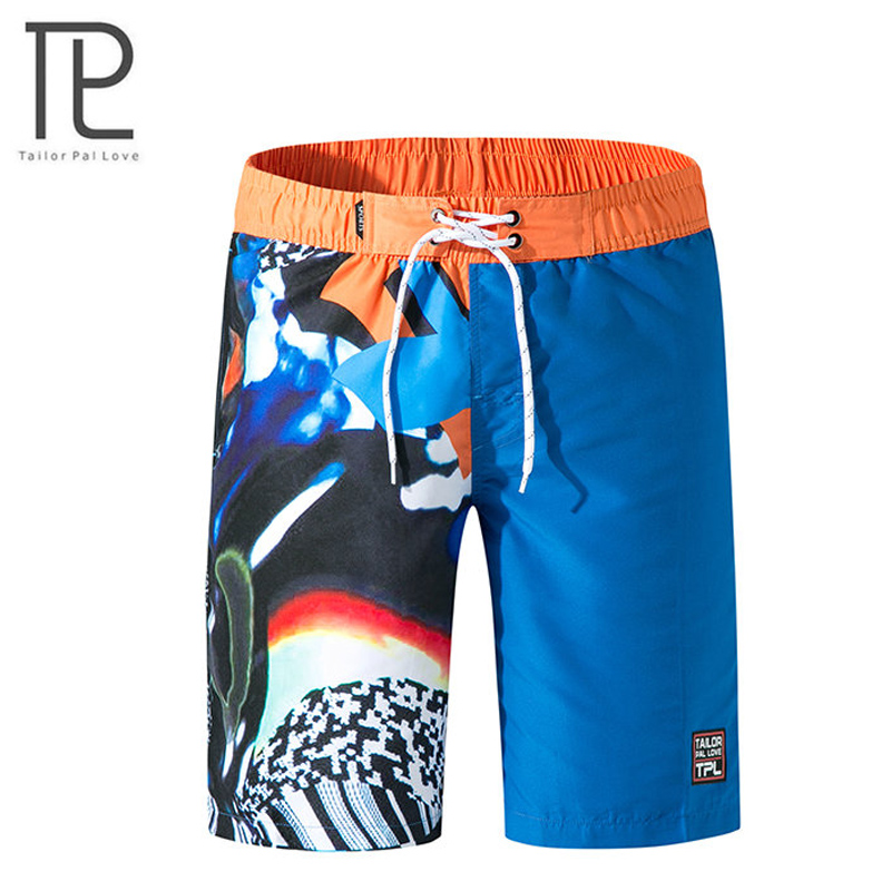 Men's Swim Trunks Beach   Shorts     Board     shorts   Quick Dry Beachwear Boardshorts Summer Sports   Short   for Swimming Surfing Running