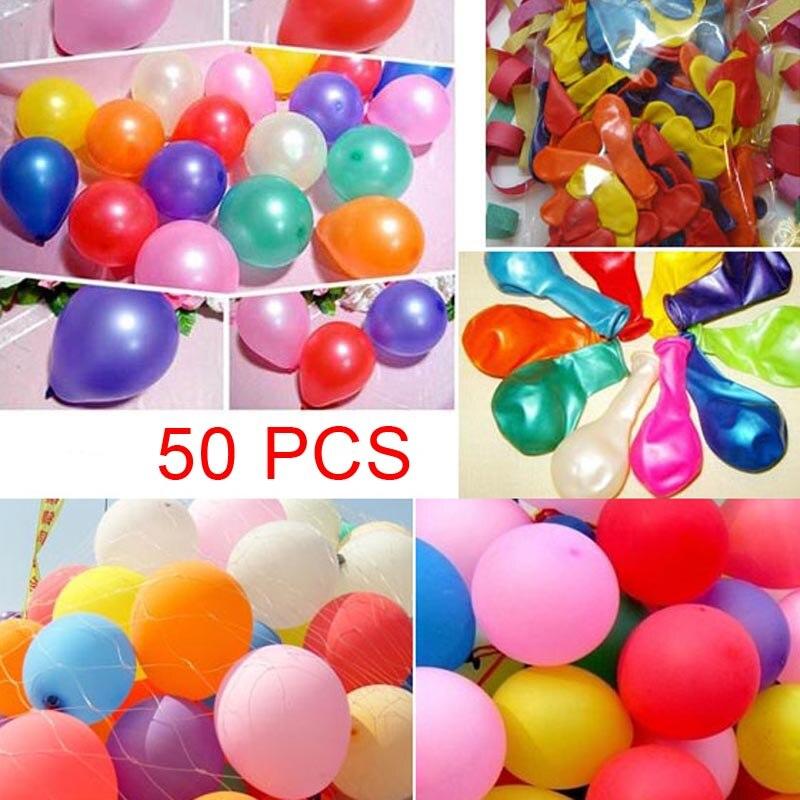 Hot Selling   50x Latex Wedding Party Balloons Birthday Latex Pearl Balloons Decoration
