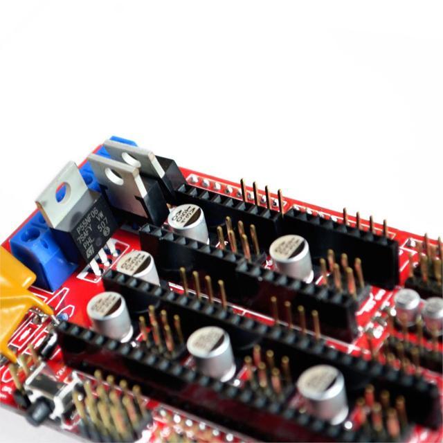 Controlador de impressora 3d rampas 1.4 para reprap mendel prusa i3 arduino placas c2l7
