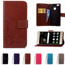 Leather Phone Case Wallet Cover For Huawei P8 P9 Lite Nova Y625 Honor 7 8 5A 5C 5X 4A 6X Y5 Y6 II 7 Lite Compact Stand Back Bag