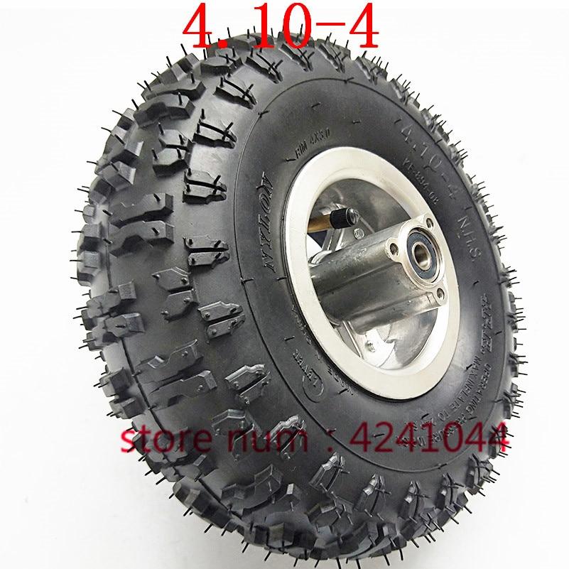 Cavis 4.10//3.50-4 410//350-4 ATV Quad Go Kart 47Cc 49Cc Chunky 4.10-4 Tire Inner Tube Fit All Models 3.50-4 4 inch Tire-Inner Tube Outer Tyre