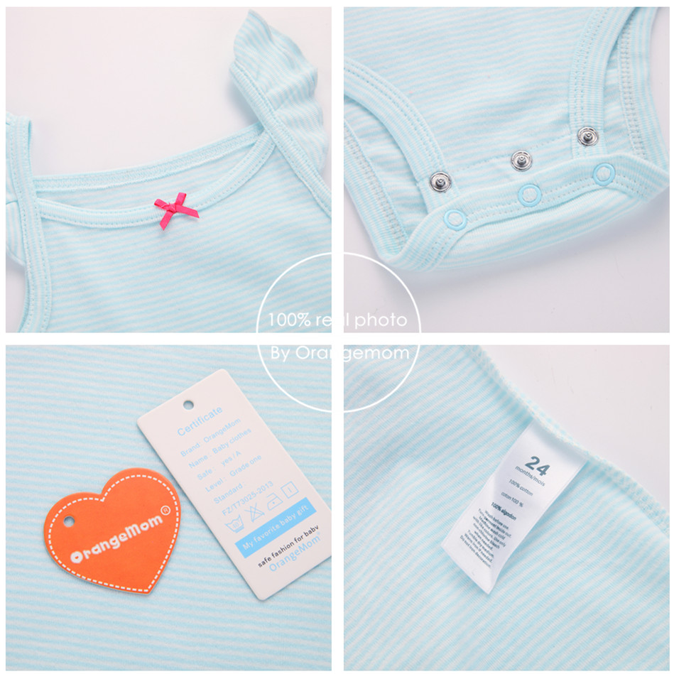 5553cef1c Fashion 2019 Orangemom Summer short sleeve baby sets for baby girl clothes  , 3pc cotton girls