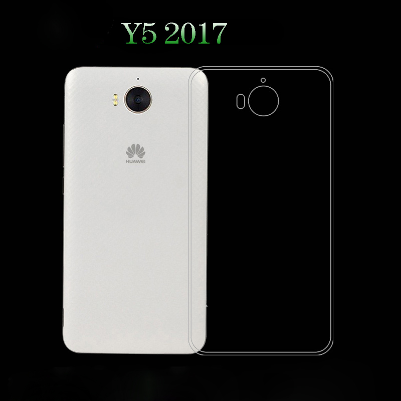 For Huawei Y5 2017 Case Huawei Mya-L22 Case Cover Ultra Thin Clear TPU For  Huawei Y5 2017 Mya-L22