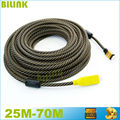 Free Shipping Nylon Braided Gold Plated HDMI Cable Male to Male Built-in IC V1.4 1080P 3D HDTV 25M 30M 35M 40M 45M 50M 60M 70M