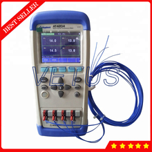 AT4204 Handheld Multi-channel Temperature Meter 4 channels Thermometer Thermocouple