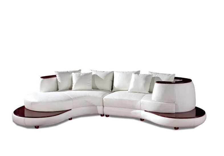 Модные угловые диваны для кожаного секционный диван L образный диван мебель