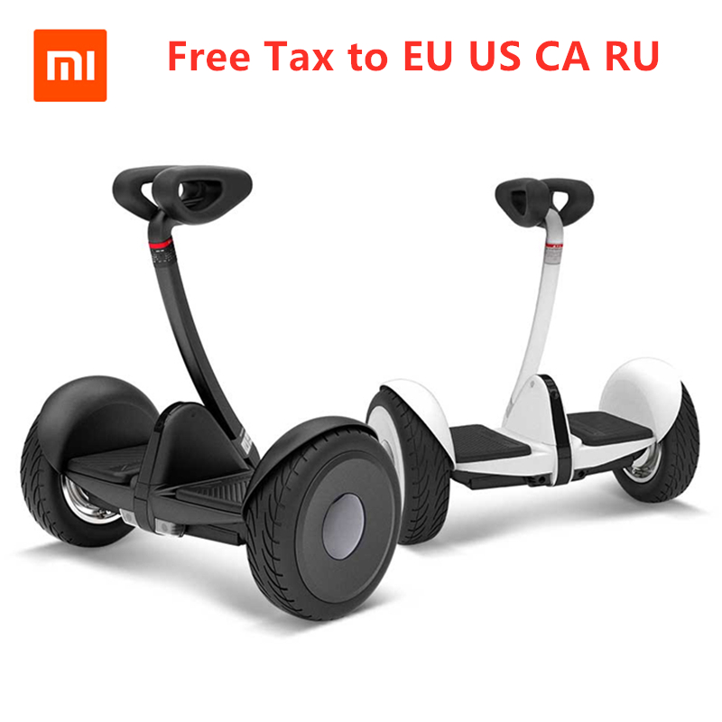 Оригинальный Ninebot Xiaomi Xijia мини умный электрический самобалансирующийся скутер Ховерборд двухколесный скейтборд для Gokart Kit