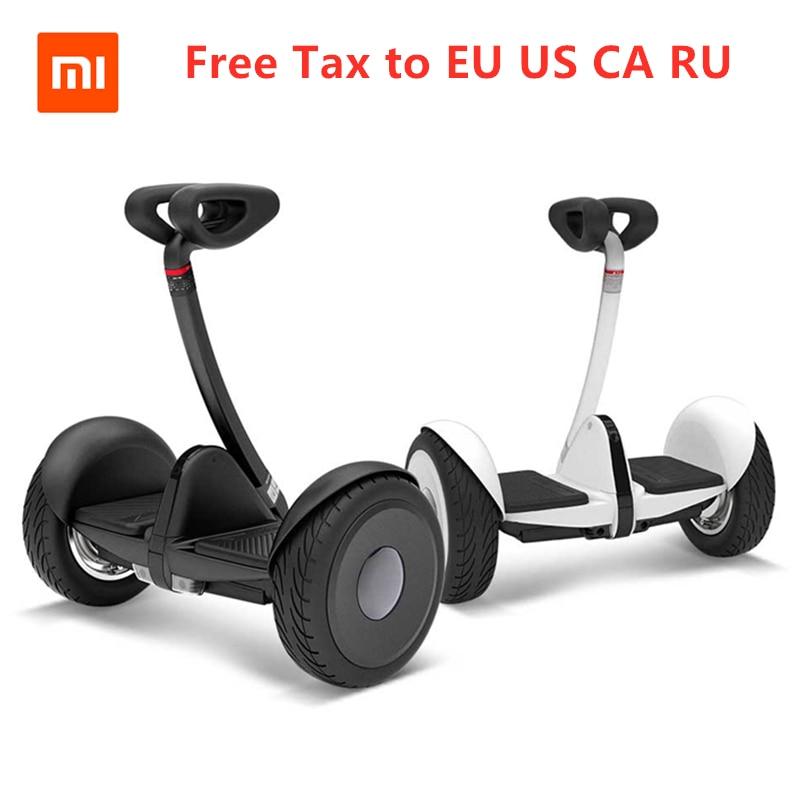 Original Ninebot Xiaomi Xijia Mini Scooter électrique intelligent auto-équilibré Hoverboard deux roues HoverBoard planche à roulettes pour Kit de kart