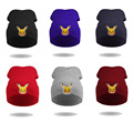 2016 Pokemon Go Winter Knitted Hats For Women Bonnet Beanies For Men Cartoon Cap Wintergorros Hombre Gorros Invierno Mujer