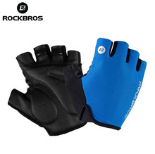 Rockbros Cycling Gloves Thicken Gel Pads Breathable Shockproof Road MTB Bike Bicycle Sport Riding Women Men