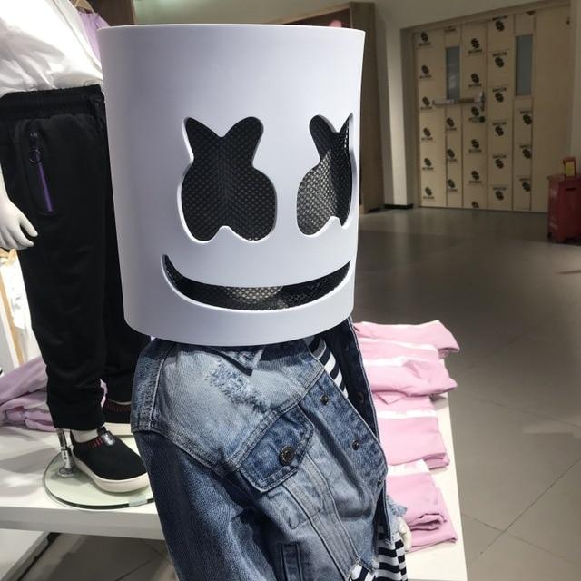 DJ LED Luminous Masks Helmet Mask Cosplay Prop DJ Halloween Party Latex Masks LED Party Bar Luminous Mask 1