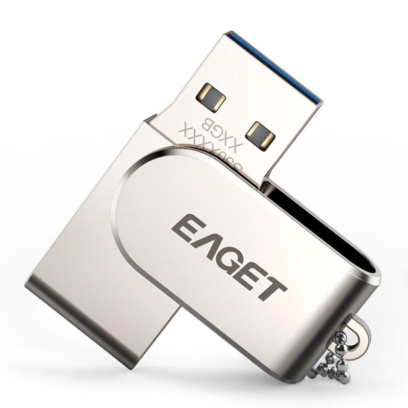 Eaget S30 32GB/64GB Portable Metal USB 2.0/3.0 Flash Drive High Speed Business Memory Data Storage U Disk Stick Pen Drive New