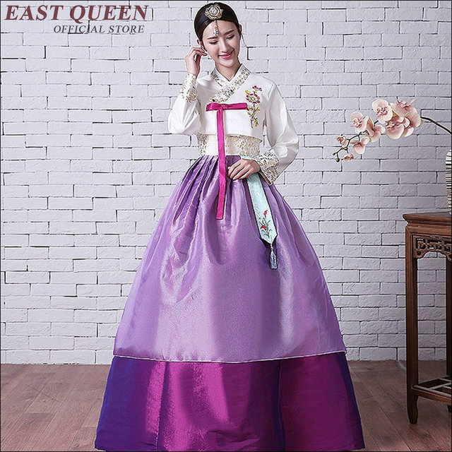 Korean Traditional Dress 2017 New Arrivals Hanbok Clothing Aa1562z