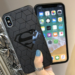 Marvel DC Comics Heros Collection Soft silicone cover for Case iphone x 10 xs max xr 6s 7 8 6 Plus Capinhas Batman Iroman Spider 6