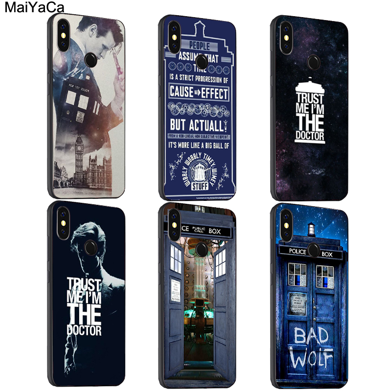 Phone Bags & Cases Selfless Maiyaca Doctor Who Quotes Case For Xiaomi Redmi 6 6a 5 Plus S2 Note 7 5a 5 Pro 4x Mi 9 8 Se 6x Mix2s Max3 Shell