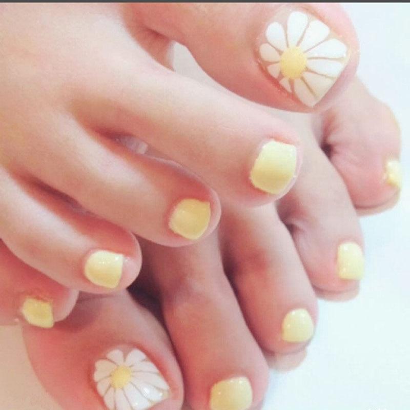 Nail Art Design For Toe Nails Artificial Acrylic Gel Nail Polish ...