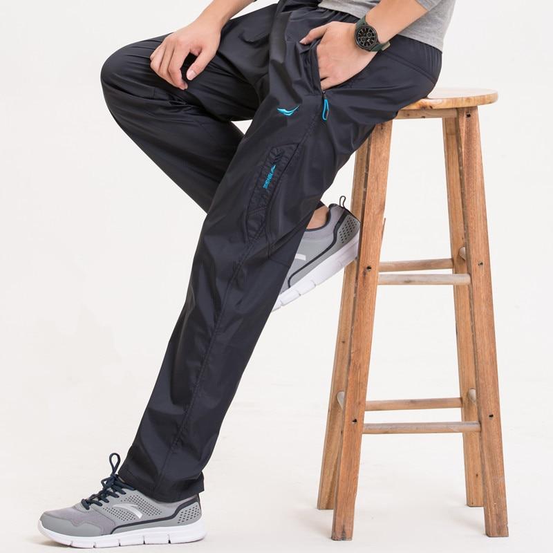Baru 3 Warna Musim Semi Musim Gugur Di Luar Mens Celana Kasual pria Cepat Kering Celana Kerja Pria Celana & Celana Tahan Air
