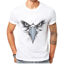 2019 Summer New Style Man T-Shirt Cartoon Eagle Print Tshirts Cotton Mens Clothes Short Sleeve Me Rica Design T Shirt For