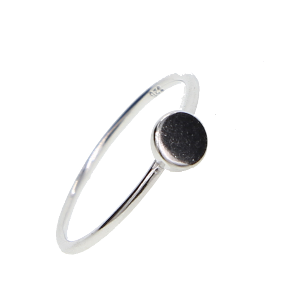 High Polished Dainty Simple Jewelry Design Small Tiny Round Dots
