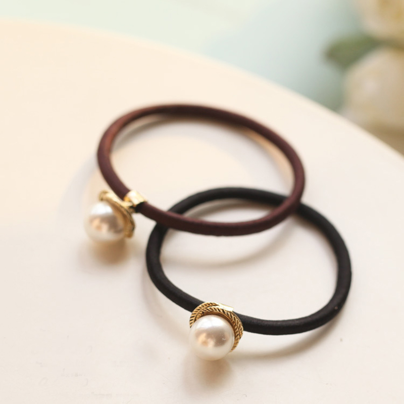 2016 Unique Design Fashion Jewelry Wholesale Factory Supplier Gold Colour Pearl Hairbands Hair Accessories t6