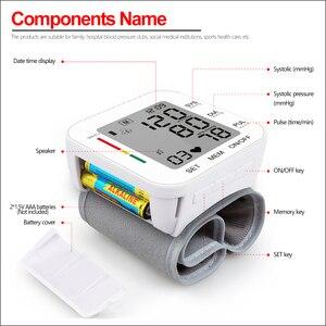 Image 2 - RZ Kỹ Thuật Số Áp Cổ Tay PulseHeart Đánh Đồng Hồ Đo Nhịp Thiết Bị Thiết Bị Y Tế Tonometer BP Mini Máy Đo Huyết Áp