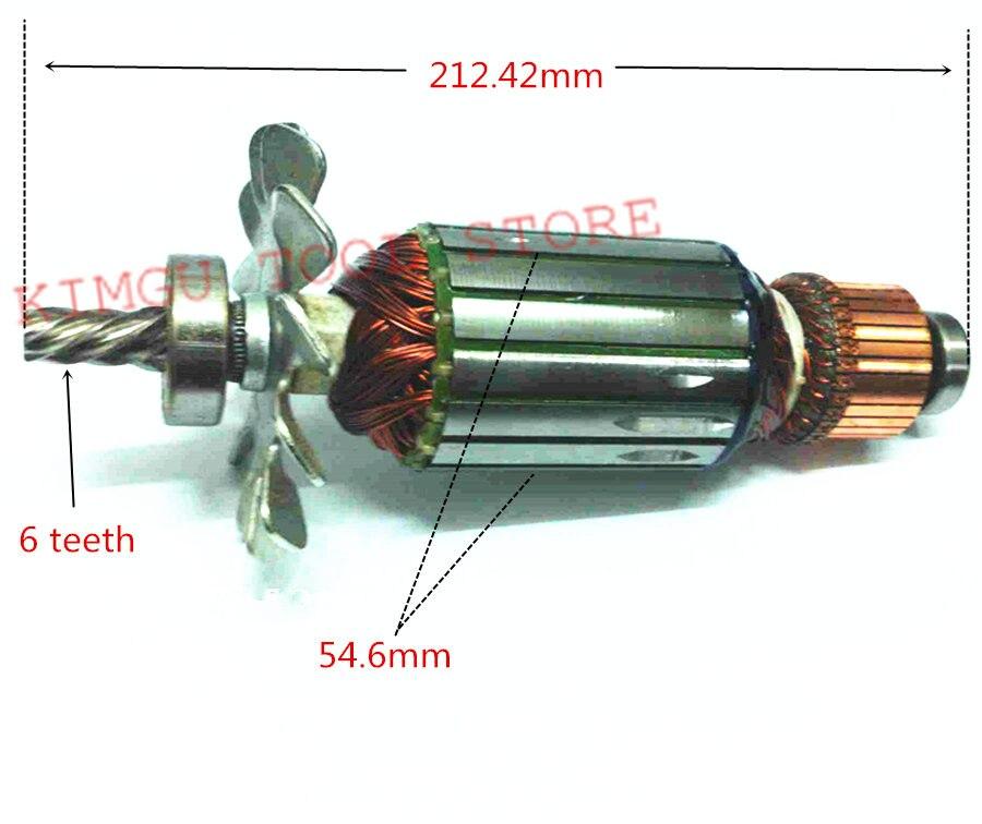 AC220-240V Motor Armature Rotor Engine  For  DEWALT D28710 N085931