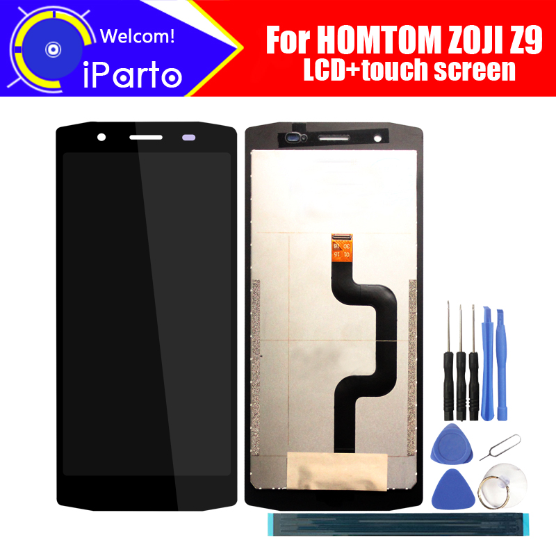 5 85 inch HOMTOM ZOJI Z9 LCD Display Touch Screen Digitizer Assembly 100 Original New LCD