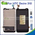 Новый ЖК-ДИСПЛЕЙ Для HTC Desire 310 Оригинальный ЖК-Экран с Сенсорным Экраном Дигитайзер Ассамблеи Запасные Части + Инструменты