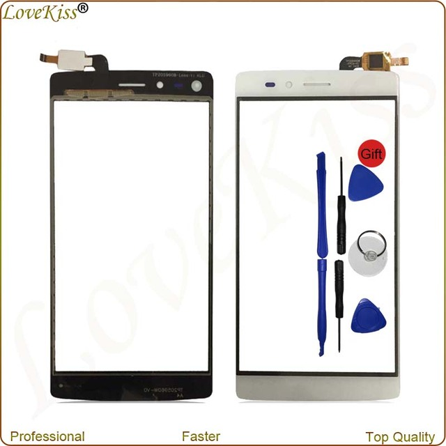 New Touch Screen For Vernee Apollo Lite Touchscreen Sensor Digitizer Panel Front Outer Glass Lens Display Lens Replacement Tools