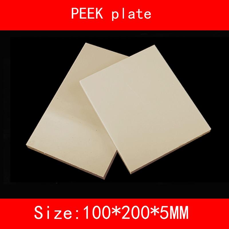 size:200mm*100mm*5mm wear-resistant high-temperature resistance peek plate sheet цены