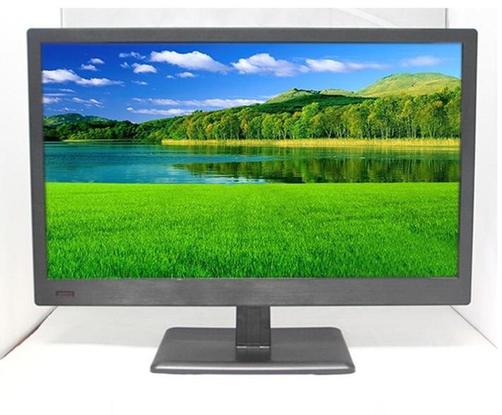 CCTV Surveillance 22 Inch HD full veiw TFT LCD Plastic Casing Monitor HDMI/VGA/BNC/AV Port for Camera