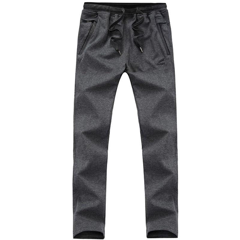 Neue Ankunft Lose Männer Schwarz Hosen Lässige Mode 100% Baumwolle - Herrenbekleidung - Foto 3
