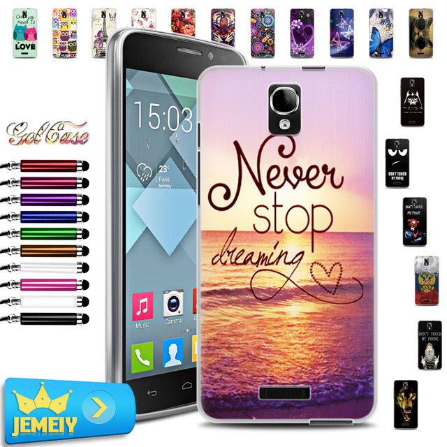huge discount bb802 18fda US $1.99 |For Alcatel one touch Pop star 4G 5070D/3G 5022D Case Soft TPU  Gel Back Cover For HERO 2C 7055A 7048X 6016 6030 5054 Phone Case on ...
