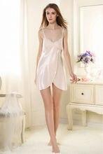Free Shipping2016 New  summer style Nightgown Nightdress pijama Ladies Sleepwear Women nightwear AZ816