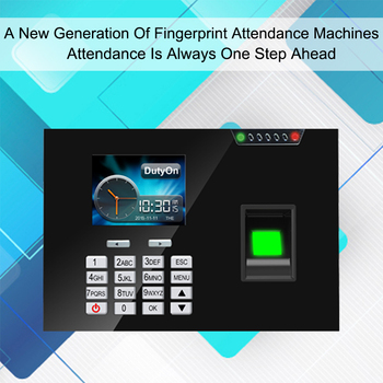 Biometric Time Attendance System Fingerprint Reader TCP/IP USB Access Control Clock Employees Device Fingerprint Time Attendance цена 2017