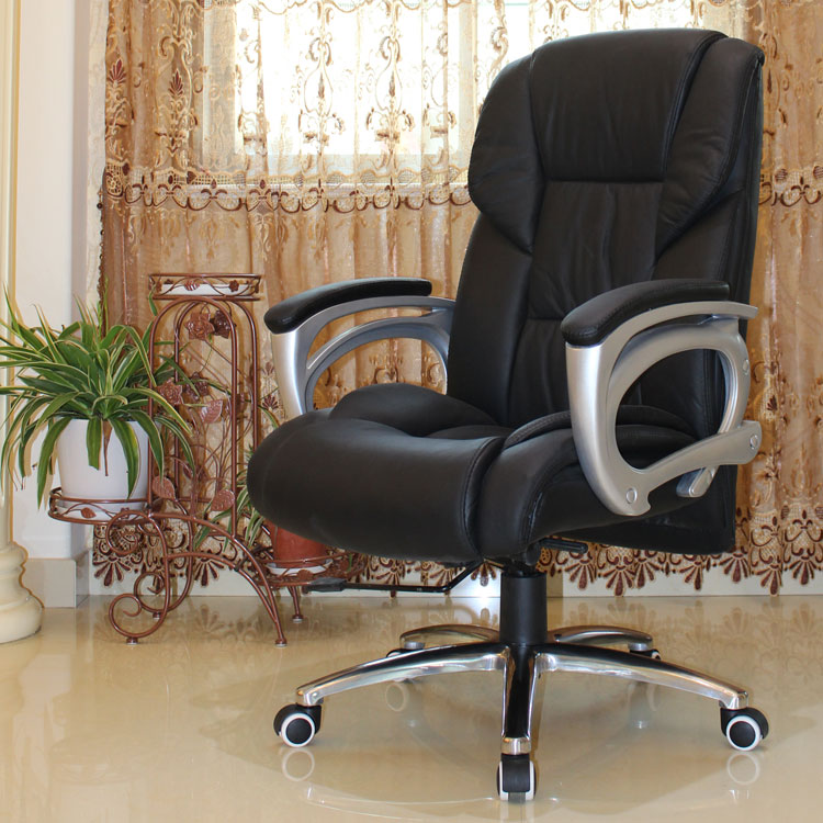 Cheap First Layer Of Leather Computer Chair Home Office