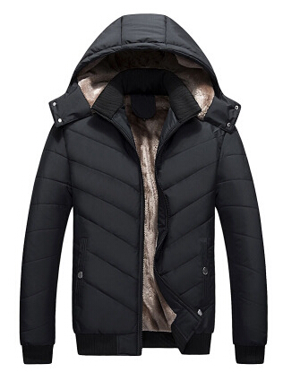 2017 Winter New Men Down Coat Brand Clothing With Fur Collar Casual Hooded Thick Warm Duck