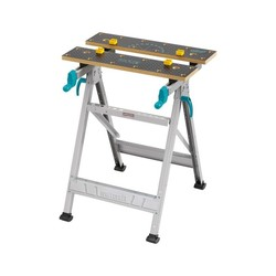 WOLFCRAFT 6177000-MASTER 200 table workstation and Restraint with reinforced chassis 645x800x300-450mm