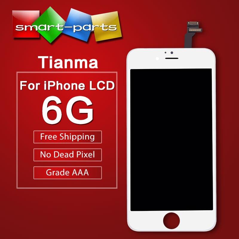 imágenes para Tianma Grado AAA Pantalla 4.7 pulgadas LCD de Pantalla Para el iphone 6 Asamblea LCD Con Pantalla Táctil Digitalizador Envío Libre