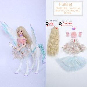 Image 5 - Fairyland FairyLine Lucywen bjd sd кукла 1/4 FL MSD тело фигурки из смолы модель девушка глаза высокое качество игрушки магазин OUENEIFS