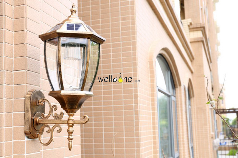 HTB1SoGHbMfH8KJjy1zcq6ATzpXay - LED water proof alluminum black/copper color  wall lamp for garden europea style good quality free shipping