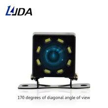 HD CCD 8 LED Macchina Fotografica di Retrovisione di Visione Notturna Universal Car Reverse Rearview Grandangolare Parcheggio di Sostegno fotocamera