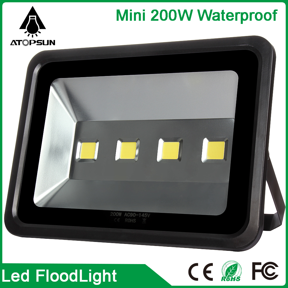 200W Waterproof LED Floodlights led spotlight outdoor Flood Light Garden Outdoor Lighting Square Lamp Bulb reflector Warm White 50w ip65 waterproof floodlights white warm white led outdoor light projector lamp garden lighting
