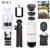 Telefone Kit de Lentes Lentes 8X Zoom Lente olho de Peixe Grande Angular Macro microscópio para iphone 7 6 5 4 s samsung s5 s6 s7 tripé