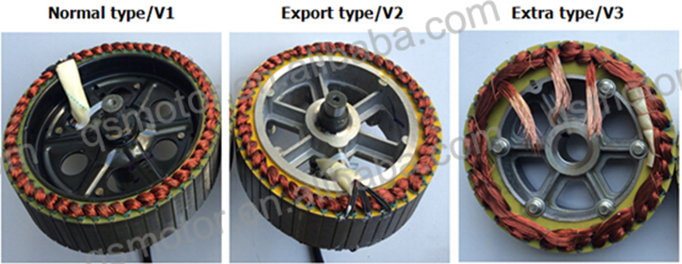 QS 10inch 800W 205 (30H) E-Scooter Normal/V1 Type Hub Motor