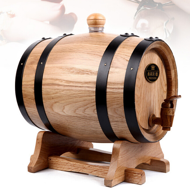 storage oak wine barrels. Interesting Oak 5L Oak Bar Casks Red Wine Barrel Liquor Storing Bladder Wooden  Decoration And Storage Barrels