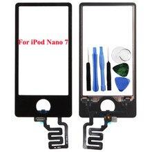 Продажа Бег верблюд Новый Сенсорный экран планшета Стекло Панель Замена для Ipod Nano 7 7TH Gen